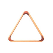 Powerglide Triangle Unisex Wooden 2 inch 1/16' - Natural, 53 mm
