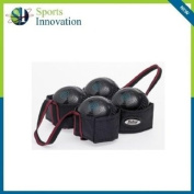 Outdoor Lawn Bowls Carry Bag - 4 Bowls Harness / Carrier