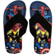 Marvel Comics Superheroes Men's Flip Flop Thong Sandals | M