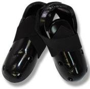 Martial Arts Dipped Foam Sparring Boots - Black