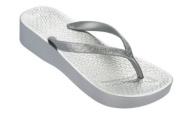 Ipanema Platform Flip Flops - Black