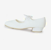 Girls roch Valley tap shoes WHITE sizes child 5 to 4