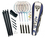 Talbot Torro Sportline Attacker Badminton 4 Player Set - , 70cm