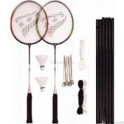 Rucanor 40 Badminton Rackets Net - Orange/Green