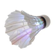 YKS 1Pcs Dark Night LED Badminton Shuttlecock Birdies Lighting