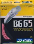 Yonex BG 65 TI Badminton Racket String