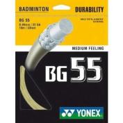 Yonex BG 55 Badminton Racket String - 10M Set