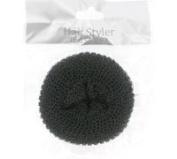 Bun Ring Hair Former Donut Shaper Styler 65mm Black