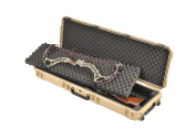 SKB Injection Moulded Double Bow/ Rifle Case - Brown