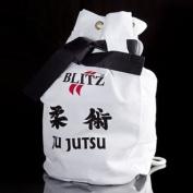 Blitz Sport Jujitsu White Duffle Bag