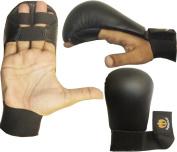 Aasta Karate Sparring Gloves,puching mitts,martialarts mitts, Black PU