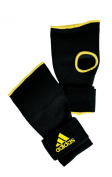ADIDAS Super Inner Gloves Padded - Black - Boxing, MMA, Kickboxing, Martial Arts - Size Small, Large