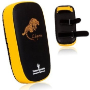 TurnerMAX Artificial Leather Thai pad kickboxing Rexion punch pad martial Arts Training Kick Boxing Strike Pad