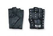 Ninja Leather Gloves, Studded