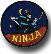 SHOGUN embroidered badge - Ninja