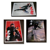 Shogun posters - set of three ninja posters