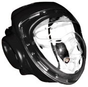 MAR Free Fighting Head Guard with Transparent Mask