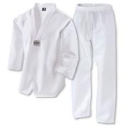 Martial Arts Taekwondo White V neck Korean Uniform