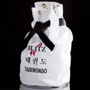 Blitz Sport Taekwondo White Duffle Bag