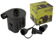 Summit Battery Powered Air Pump with 3 Adaptors - Black