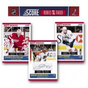 Score 2010/11 Rookie & Traded Hockey 105 Card Hobby Set