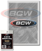 TRADING CARD PROTECTIVE SLEEVES COLLECTORS MIXED SIZE PACK