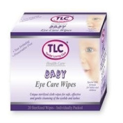 TLC Baby Eye Care Sterilised - Pack Of 20 Wipes