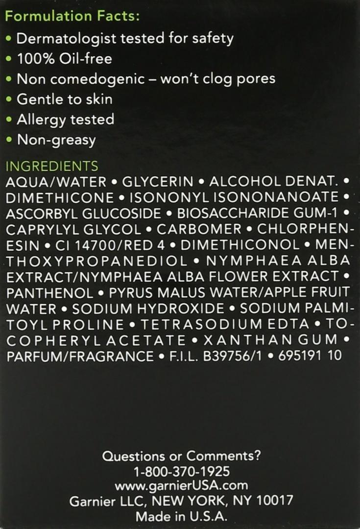 Garnier Skincare Moisture Rescue Refreshing Gel-Cream for Dry Skin for Dry  Skin, 1 7 Fluid Ounce