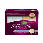 Depend Underwear Silhouette Maximum Absorbency for Women, Small/Medium, 12 Count