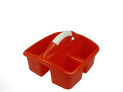 Romanoff Deluxe Small Utility Caddy, Red