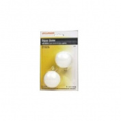 Sylvania Lighting 60W G16.5 Bulb Soft Wht Med 2P