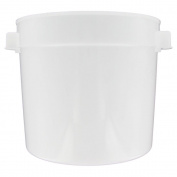 Prolon 5.7l. Natural White Polyethylene Food Storage Container