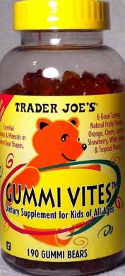 Trader Joe's Kids Gummi Vites-190 Bears