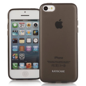 KAYSCASE Slim Soft Gel Cover Case for Apple new iPhone 5 / iPhone 5S, Retail Packaging with Screen Protector