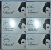 KOJIE SAN SKIN LIGHTENING KOJIC ACID SOAP, 6-PACK