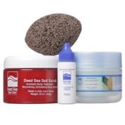 Dead Sea Spa Care, Body Scrub, 470ml Dead Sea Salt Scrub, 240ml Shea Body Butter, Cuticle Oil Gift Set, Dead Sea Products, Gift Sets, Pampering Sets, Home Spa Sets