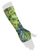 Wrist Sleeve with Thumb Hole - Wildflower - L