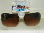 2.0 Foster Grant Reading / Sun Glasses Combo