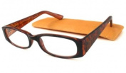 ICU Eyewear Reading Glasses Gold w/ Etched Floral Temples - +2.50