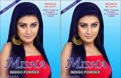 (Qty. 2) 100g 100% Natural Pure Indigo Hair Colour & Conditioning Powder. Beautiful Indigo Blue Colour.