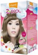 Lolane Z-cool Bubble Hair Colour Foam Z1 Ash Cocoa.