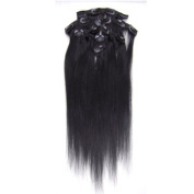 """Fashionline 15""""18""""20"""" Fashional Clips in Remy Human Hair Extensions 24 Colours for Women Beauty."""