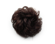 Faux Ponytail Headband Hairpiece Elastic Rope Band Braid Hair Accessories Hair Wigs Nature Brown