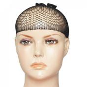 Black Hair Wig Weaving Cap Net Mesh Fishnet for Women