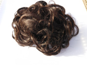 HAIR EXTENSIONS CURLY OR MESSY DRAWSTRING UPDO FULL BUN ADD BODY