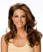 REAL LOOK HAIR EXTENSION LIGHT BROWN WITH AUBURN SOFT HIGHLIGHTS WAVY 60cm X LONG