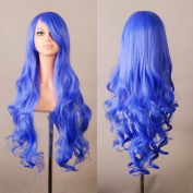 "MapofBeauty 32"" 80cm Long Hair Spiral Curly Cosplay Costume Wig"