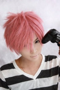 Ao no Exorcist shima renzou pink Cosplay Wig Anime Wig Party Hair Full wig