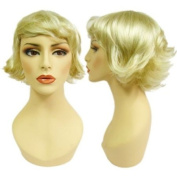 Flipped Blonde Joan Wig