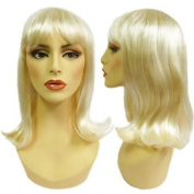 Blonde Soft Look Alley Wig